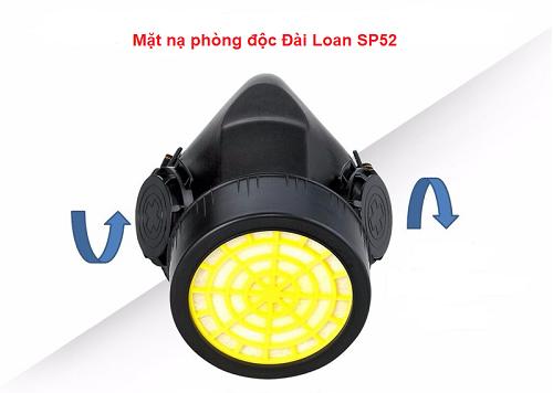Mặt nạ phòng độc Đài Loan 1 phin SP52