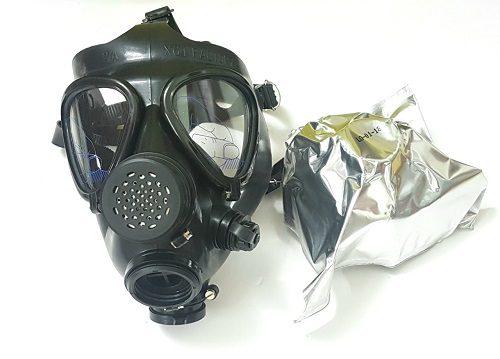 Thông tin chi tiết về mặt nạ phòng độc của quân đội MV5, V-5 và NBC