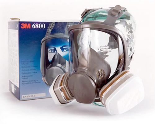 Hướng dẫn sử dụng mặt nạ phòng độc 3M 6800