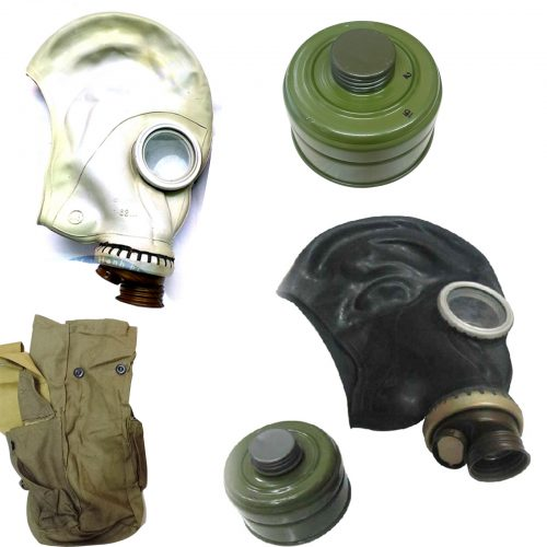 Phân biệt mặt nạ phòng độc Nga có vòi và không có vòi chi tiết nhất